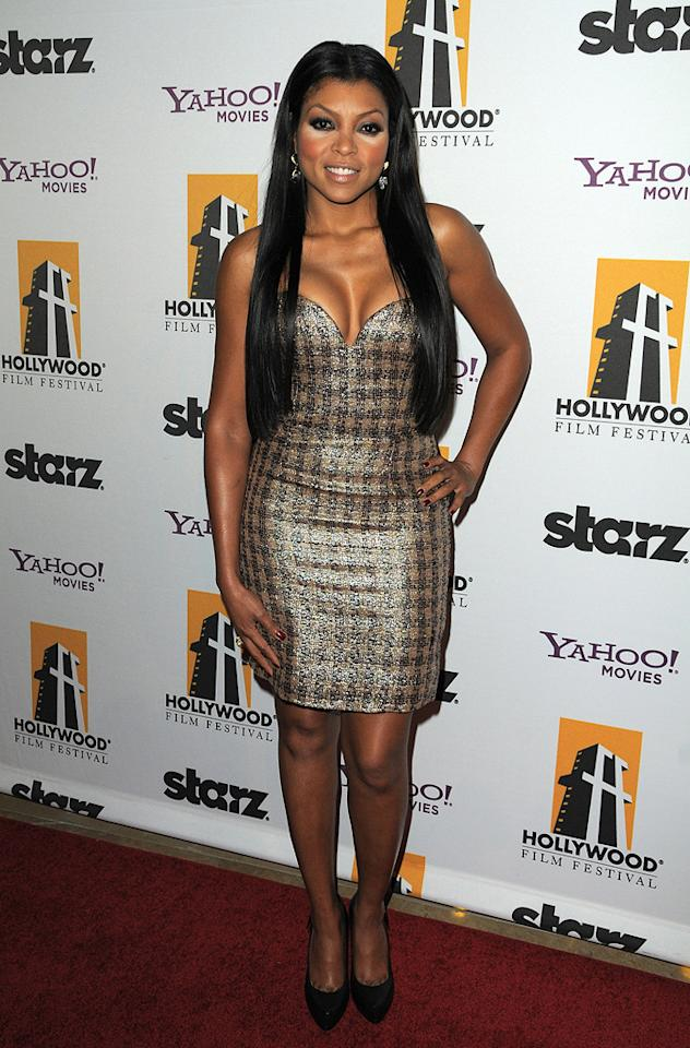 """<a href=""""http://movies.yahoo.com/movie/contributor/1804514499"""">Taraji P. Henson</a> at the 13th Annual Hollywood Awards Gala held at the Beverly Hilton Hotel - 10/26/2009"""