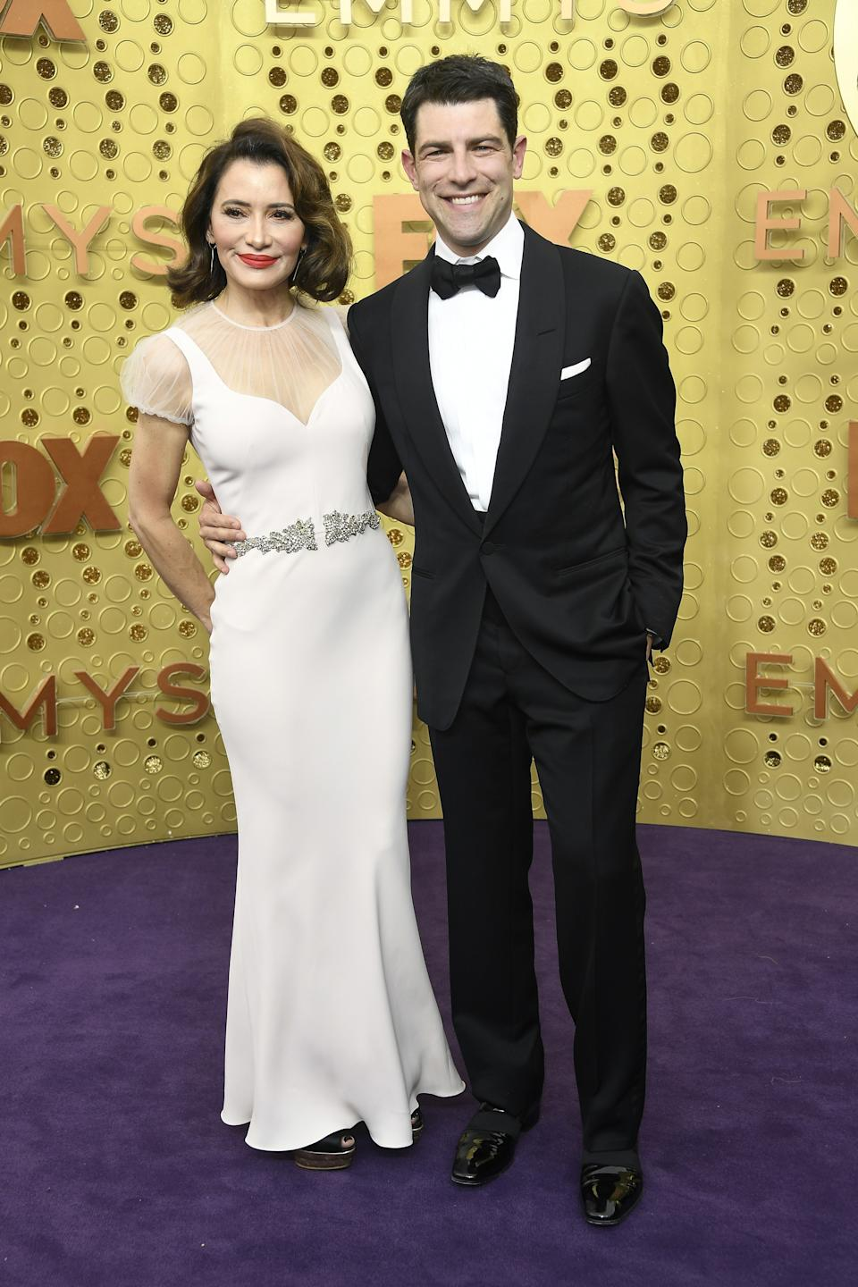 """<h1 class=""""title"""">Tess Sanchez and Max Greenfield</h1><cite class=""""credit"""">Photo: Getty Images</cite>"""