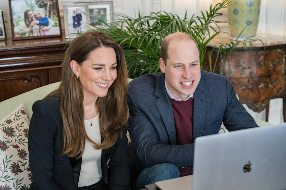 The Duke and Duchess of Cambridge spoke to nursing students at Ulster University. (Kensington Palace)