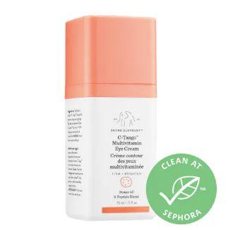 """<strong>Reviews</strong>: 224<br><strong>Rating</strong>: 4.1 stars<br><strong>Loves</strong>: 30,000<br><br><strong>Promising review</strong>:&nbsp;<i>""""This eye cream is AMAZING! I&rsquo;ve been using the Shaba Complex serum for quite some time, and while it is amazing - just like the rest of the DE lineup - the C-Tango is a must have. I use the C-Tango in the morning and the Shaba at night, and between the two products, my eyes have never looked better. The C-Tango noticeably improved the tone of my eyes, so it&rsquo;s a great partner for the Shaba, which does wonders for puffiness. It doesn&rsquo;t agitate my super sensitive skin, and it doesn&rsquo;t make my eyes water like many eye creams that I&rsquo;ve used in the past.""""</i><br><br><strong>Get the <a href=""""https://www.sephora.com/product/c-tango-multivitamin-eye-cream-P429515?icid2=products%20grid:p429515:product"""" rel=""""nofollow noopener"""" target=""""_blank"""" data-ylk=""""slk:Drunk Elephant C-Tango Multivitamin Eye Cream"""" class=""""link rapid-noclick-resp"""">Drunk Elephant C-Tango Multivitamin Eye Cream</a>.&nbsp;</strong>"""