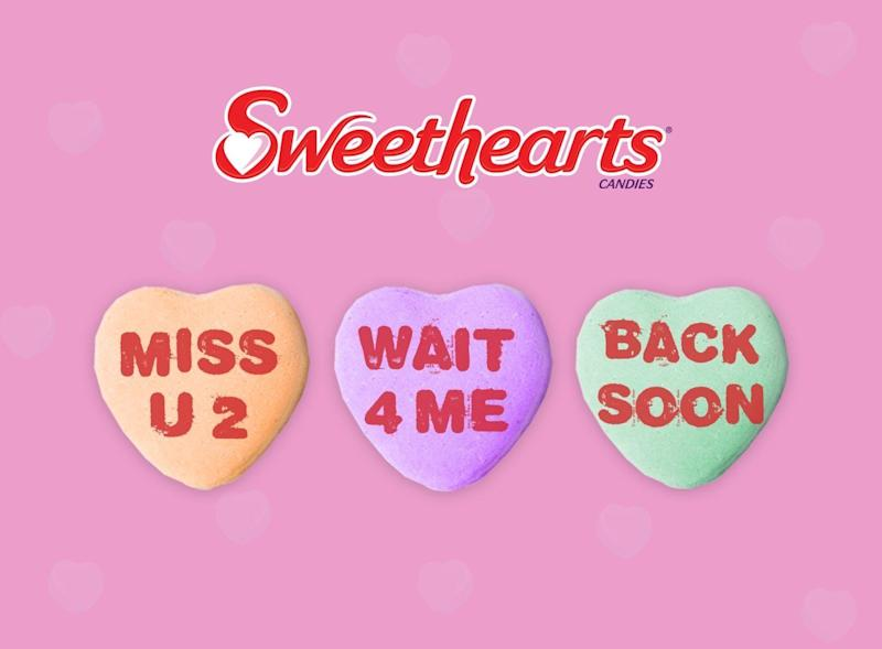Sweetheart Candies Won't Be On Shelves This Valentine's