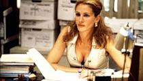 <p> Erin Brockovich is the empowering David and Goliath story of one woman's war with a Californian gas and electric tycoon in 1993. Brockovich discovered that the company was paying off sick residents to cover their tracks, so she joined forces with a small time lawyer to bring them down. Julia Roberts stepped into Erin's sassy shoes giving perhaps one her most powerful performances to date, landing her the Academy Award for Best Actress in a Leading Role. </p>