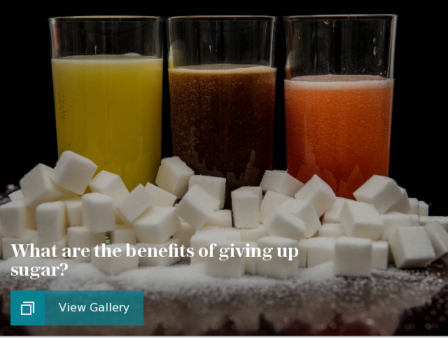 What are the benefits of giving up sugar?