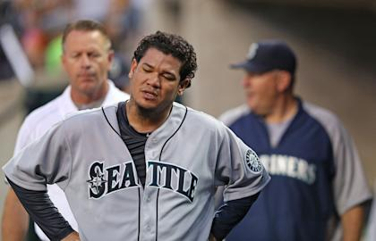 Felix Hernandez is 13-4 with a 1.99 ERA this season. (Getty Images)