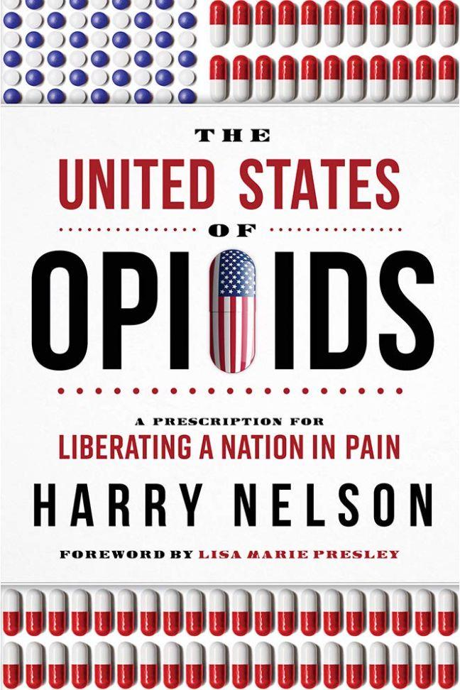 "Lisa Marie Presley wrote the foreword for ""The United States of Opioids: A Prescription for Liberating a Nation in Pain."" (Image: Amazon)"