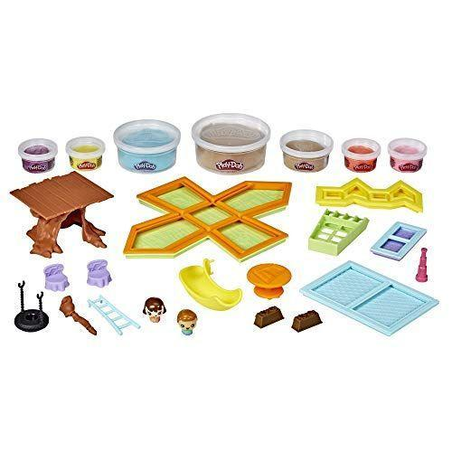 """<p><strong>Play-Doh</strong></p><p>amazon.com</p><p><strong>$28.33</strong></p><p><a href=""""https://www.amazon.com/dp/B083YP32PK?tag=syn-yahoo-20&ascsubtag=%5Bartid%7C10055.g.26859132%5Bsrc%7Cyahoo-us"""" rel=""""nofollow noopener"""" target=""""_blank"""" data-ylk=""""slk:Shop Now"""" class=""""link rapid-noclick-resp"""">Shop Now</a></p><p>Just when you thought you'd seen everything Play-Doh can do, they come up with a set for bigger kids. Here,<strong> creators can fashion a treehouse out of the modeling compound,</strong> add on extra like windows and a slide and use them as a playset for the two included figures. <em>Ages 5+</em></p>"""