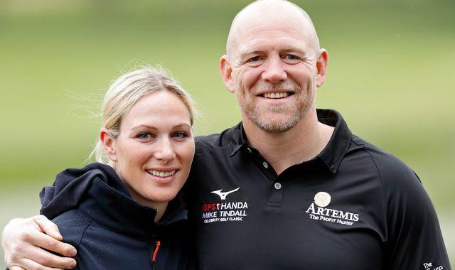 Coronavirus: Zara and Mike Tindall trial COVID-19 rapid-testing kit and receive results on camera