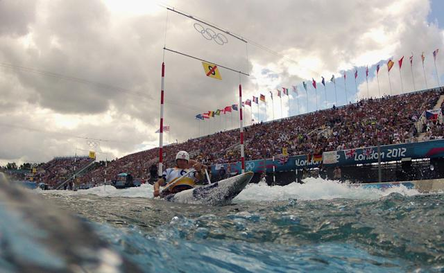 Lee Valley White Water Centre in 2012.
