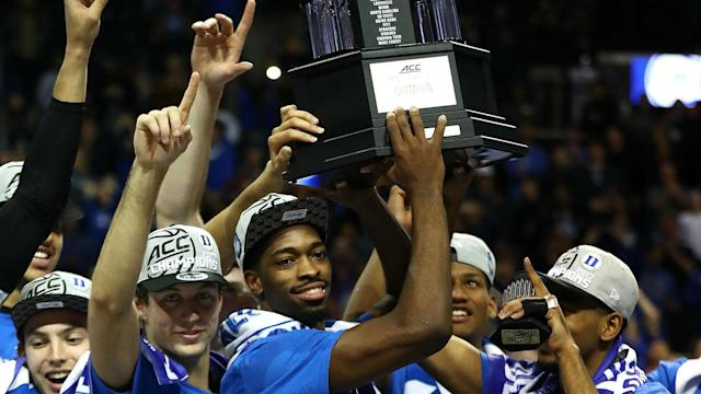 Duke isn't a No. 1 seed, but that hasn't stopped Las Vegas from favoring the Blue Devils.
