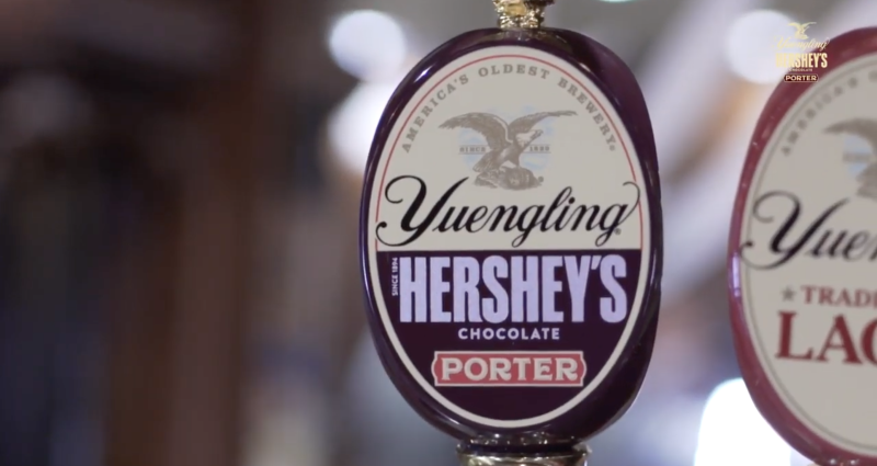 Yuengling Hershey's Chocolate Porter on draft
