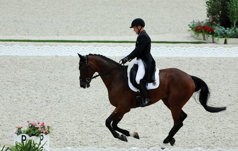 Equestrian - Eventing - Dressage Individual - Day 2