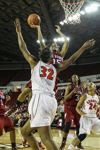 Armstrong leads No. 10 Georgia women past SC State
