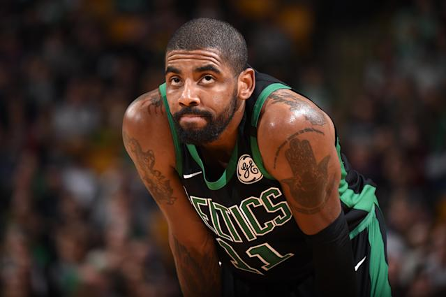 Kyrie Irving is expected to miss four-to-five months. (AP)