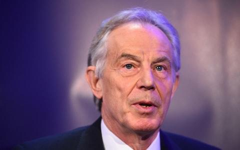 <span>Former Prime Minister Tony Blair was among those whose numbers were in Epstein's contacts book</span> <span>Credit: PA </span>