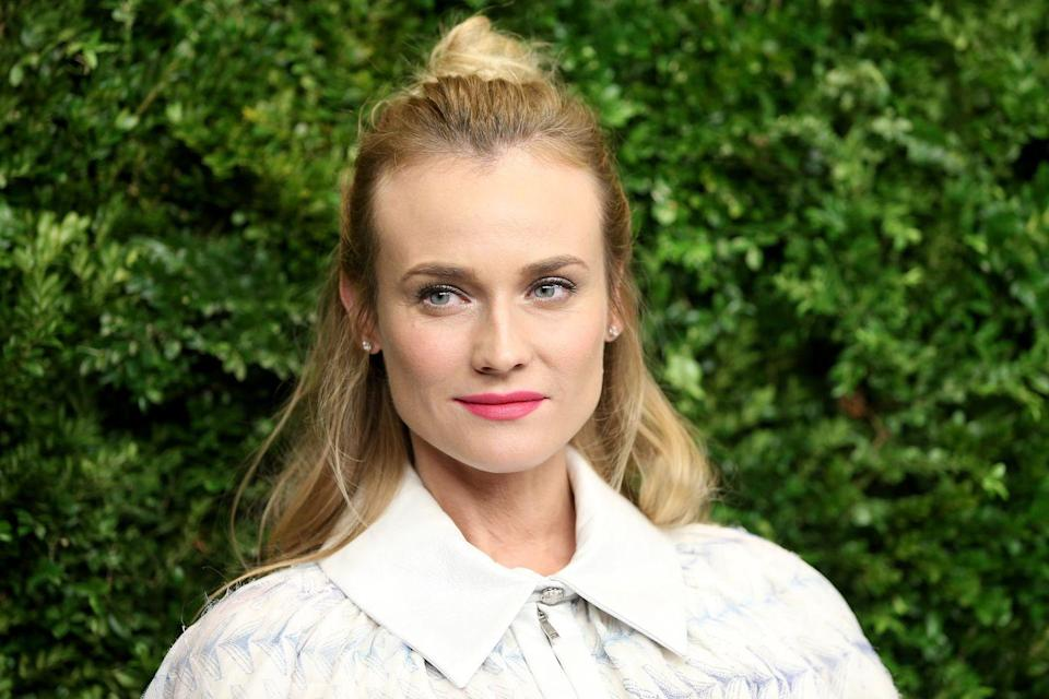 """<p>Actress Diane Kruger had dreams of becoming a ballerina, but a knee injury at 13 shattered that vision.""""When that ended,"""" <a href=""""https://www.indiewire.com/2016/08/diane-kruger-inglorious-basterds-disorder-interview-1201716210/"""" rel=""""nofollow noopener"""" target=""""_blank"""" data-ylk=""""slk:Diane told IndieWire"""" class=""""link rapid-noclick-resp"""">Diane told <em>IndieWire</em></a>. """"I was really lost for a long time. Somebody saw me dancing and said, 'You should be a model!'"""" </p><p>That modeling career ultimately led to her acting career in films like <em>Troy</em>, <em>Inglourious Basterds </em>and the upcoming action thriller <em>The 355</em>.</p>"""