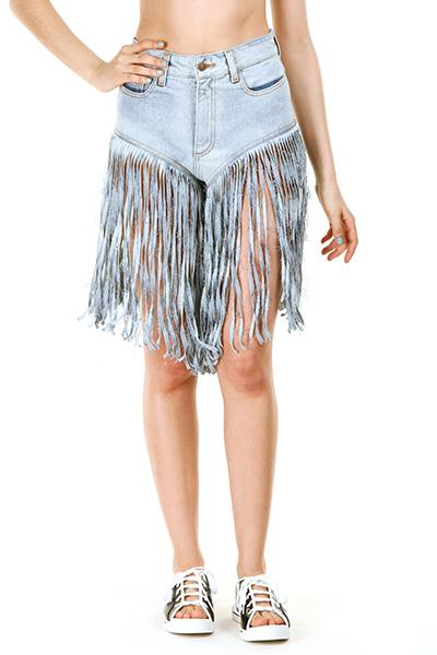 "<div class=""caption-credit""> Photo by: openingceremony.us</div><div class=""caption-title""></div><b>Jeremy Scott Fringe Jean Shorts, $405</b> <br> Have your very own mechanical bull in your rec room? These might be for you. <br>"