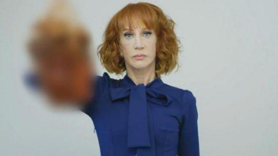 Comics rally around Kathy Griffin amid Trump photo controversy