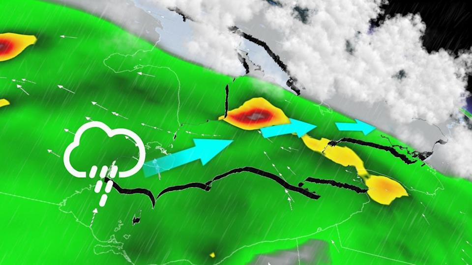 Multi-day thunderstorm threat arises with humidity spike in Ontario