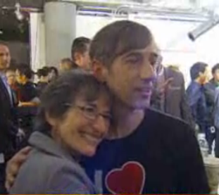Zynga CEO Mark Pincus and mother