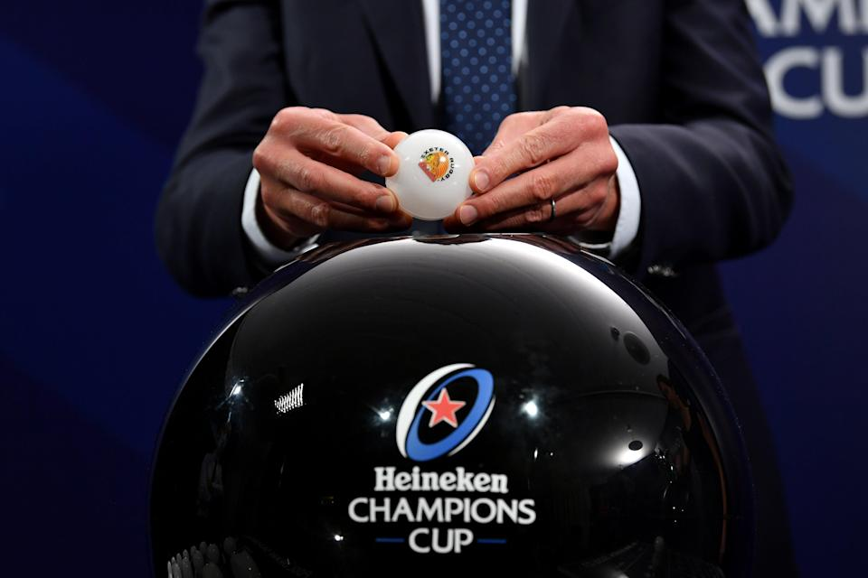 Exeter Chiefs were drawn against Toulouse and Glasgow Warriors in the champions Cup pool stage (Harold Cunningham/EPCR)