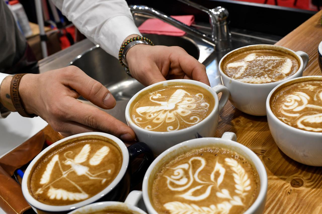 Price of cappuccino $1.70 (Rs 119)