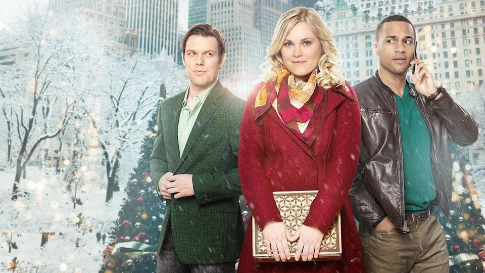 """<p>If you thought <strong>A Christmas Prince</strong> was cheesy, you ain't seen nothing yet. This film stars Eliza Taylor (<strong>The 100</strong>) as a heiress who hides her identity from a group of unsuspecting townspeople at the request of her father.</p> <p>Watch <a href=""""https://www.netflix.com/title/80177441"""" class=""""link rapid-noclick-resp"""" rel=""""nofollow noopener"""" target=""""_blank"""" data-ylk=""""slk:Christmas Inheritance""""><strong>Christmas Inheritance</strong></a> on Netflix now.</p>"""