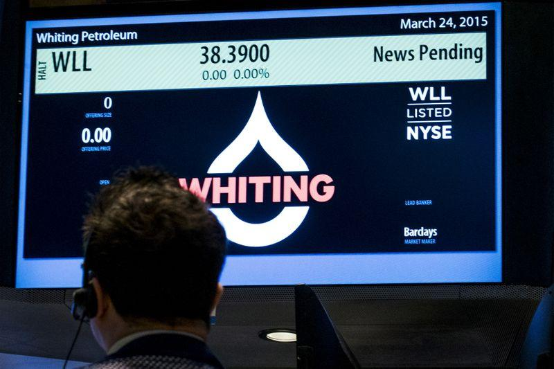 U.S. shale company Whiting becomes first major bankruptcy of oil-price crash