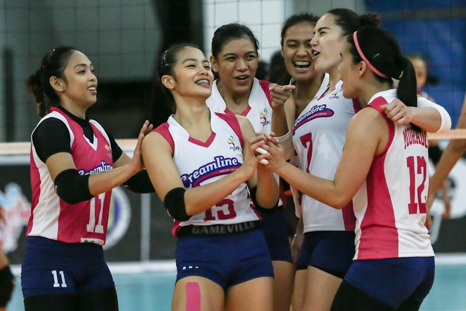 Defending champion Creamline stays unbeaten with sweep of PLDT in the 2021 Premier Volleyball League (PVL) Open Conference. (Photo: PVL Media Bureau)