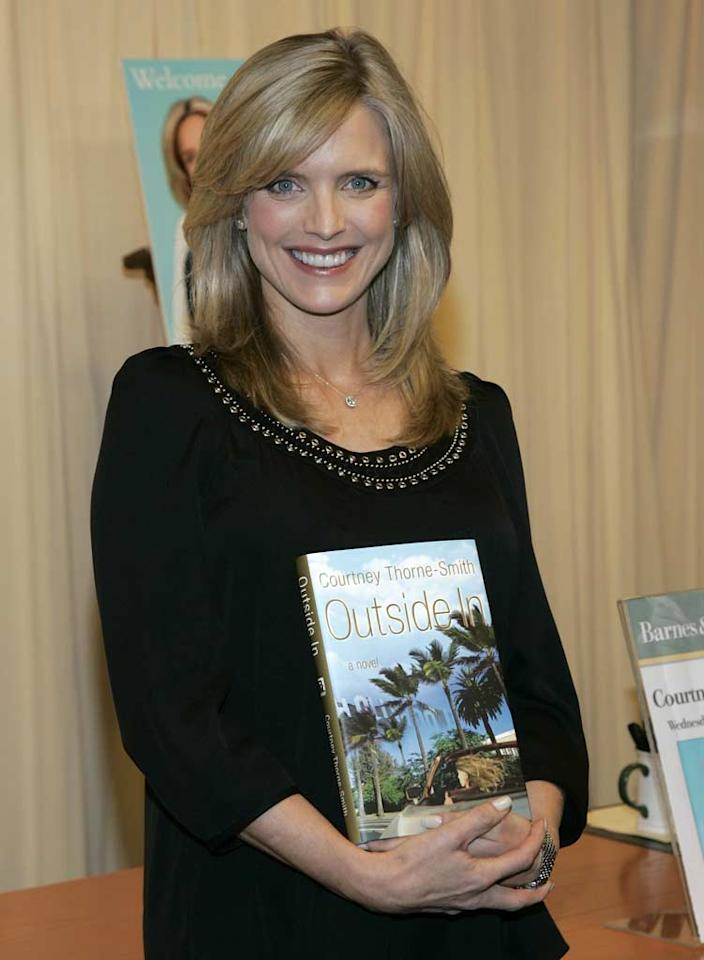 "Surprisingly, Lisa isn't the only ""Melrose Place"" alum who has ""author"" on her resume. Courtney Thorne-Smith, who portrayed desperate drunkard Allison Parker on the hit FOX soap, delivered <i>Outside In</i> in the fall of 2007. Brian Ach/<a href=""http://www.wireimage.com"" target=""new"">WireImage.com</a> - September 19, 2007"