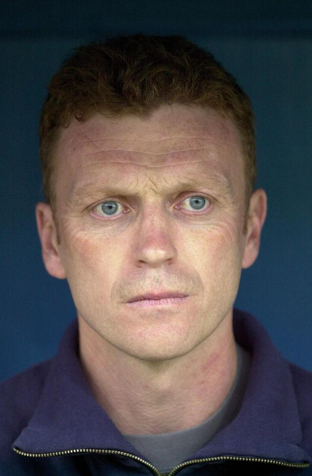 17 May 2001: David Moyes manager of Preston during the Nationwide League Division One Play Off Semi-final between Preston North End and Birmingham City at the Deapdale Stadium, Preston, England. Digital Image. Mandatory Credit: Ross Kinnaird/ALLSPORT