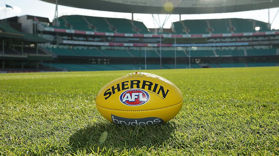 The AFL has cautioned players against engaging in frequent casual sex as part of their return to play protocols. (Photo by Mark Metcalfe/Getty Images)