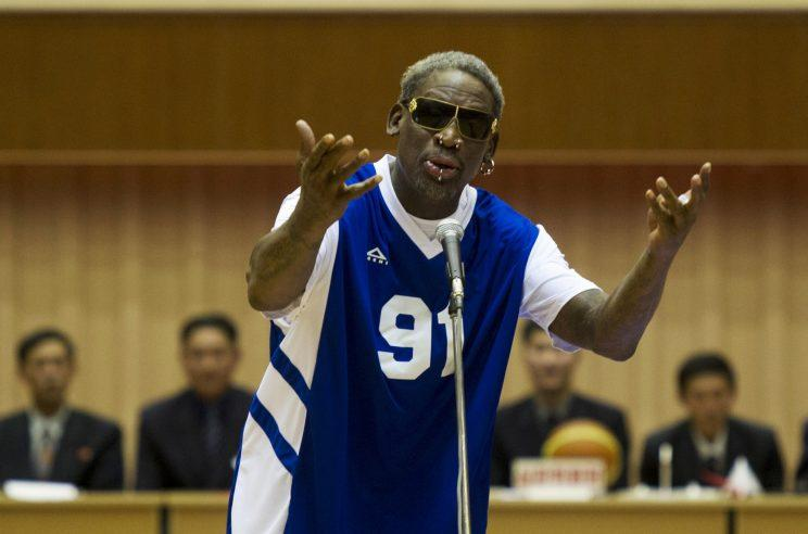 Rodman has visited North Korea many times