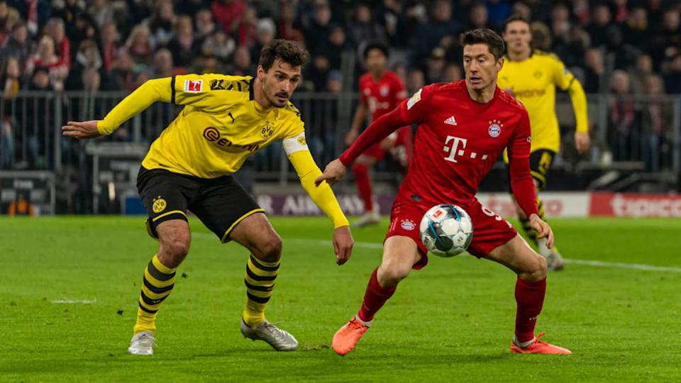 Robert Lewandowski y Mats Hummels vuelven a ser oponentes | TF-Images/Getty Images