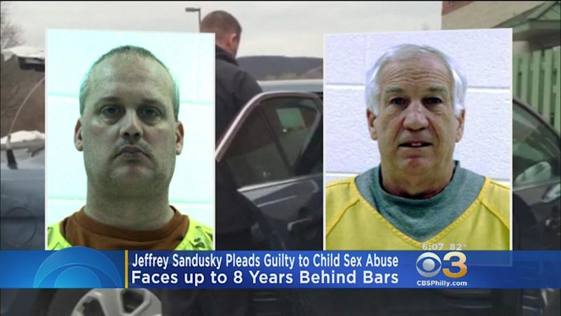 Jeffrey Sandusky pleads guilty to child sex abuse charges