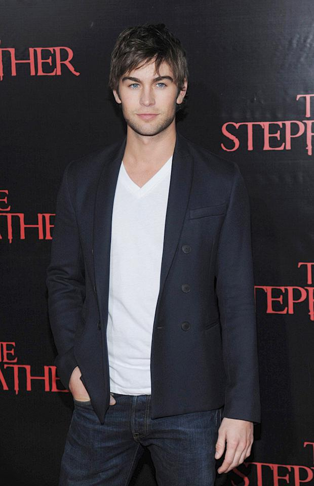"""<a href=""""http://movies.yahoo.com/movie/contributor/1809677579"""">Chace Crawford</a> at the New York City premiere of <a href=""""http://movies.yahoo.com/movie/1810001213/info"""">The Stepfather</a> - 10/12/2009"""