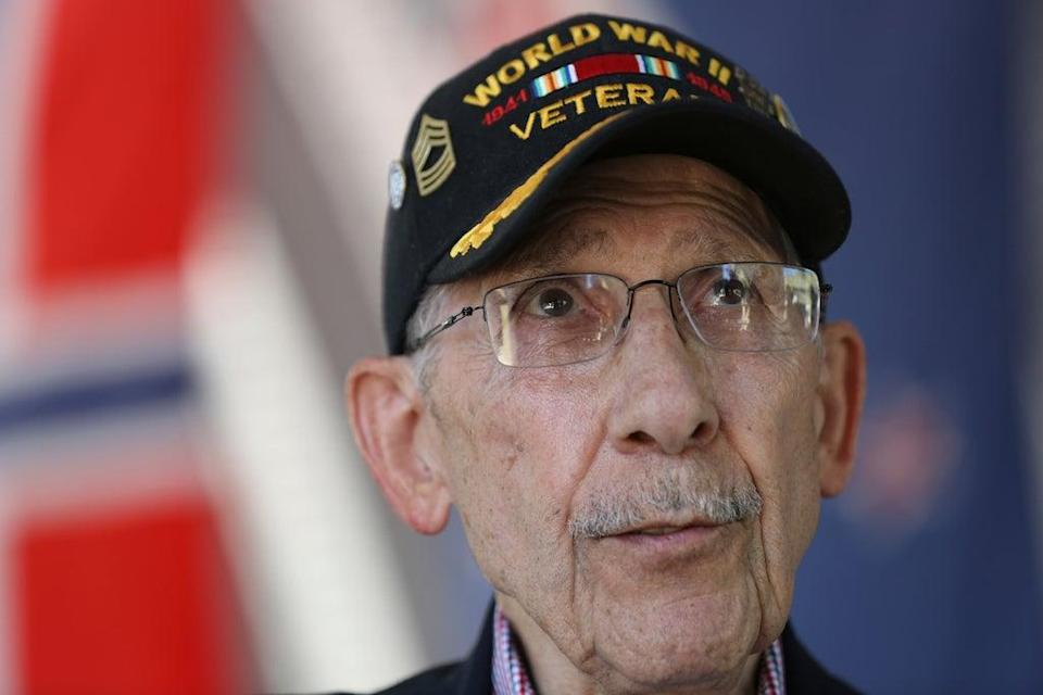 WWII Veteran French Honor (ASSOCIATED PRESS)