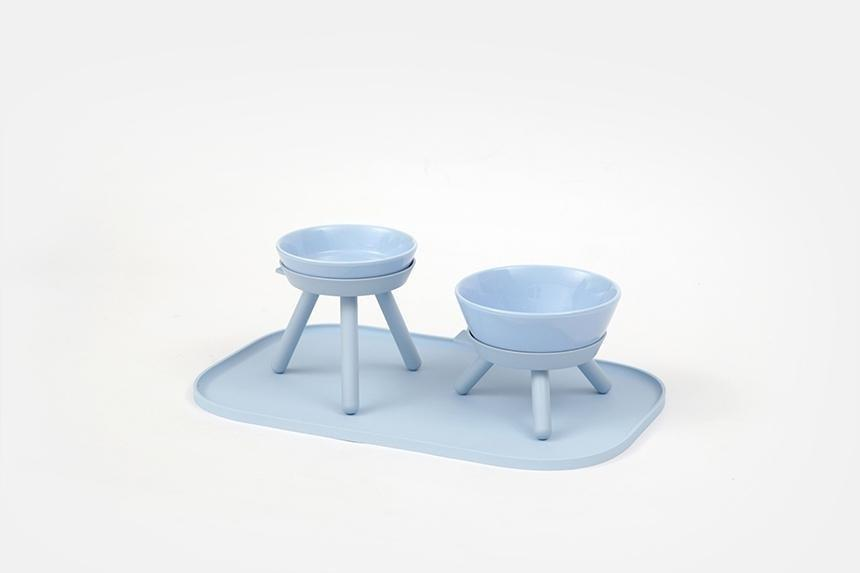 "New York– and Seoul-based <a href=""https://petssogood.com/"" rel=""nofollow"">Pets So Good</a> launched its line of modern pet and lifestyle products <a href=""https://www.architecturaldigest.com/story/korean-pet-decor-pets-so-good?mbid=synd_yahoo_rss"" rel=""nofollow"">last year</a> with items designed and produced by South Korea's rising creative houses. Recently, it has added chic new pet gear like porcelain standing <a href=""https://petssogood.com/collections/all-item/products/dog-and-cat-bowls-2"" rel=""nofollow"">food and water bowls</a>, a <a href=""https://petssogood.com/collections/new-item/products/oreo-mat-sky-blue"" rel=""nofollow"">mess-containing mat</a>, and a <a href=""https://petssogood.com/products/dog-hammock?_pos=1&_sid=fd09ee285&_ss=r"" rel=""nofollow"">hammock set</a>."