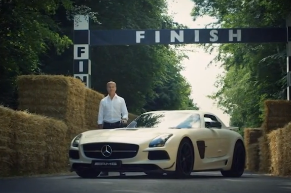 Coulthard and SLS