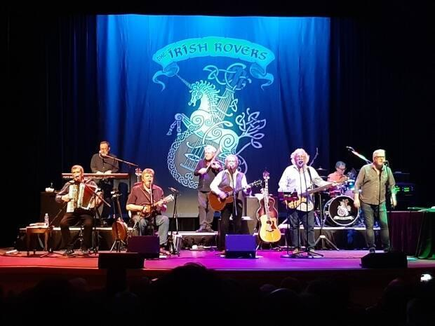 The Irish Rovers entertained people at the Harbourfront Theatre in late February 2020, says Barbara Bowness. 'We sooooo enjoyed it, as we had just returned from our lovely tour in Ireland, five months earlier ... we felt like we were back in Ireland that night.'