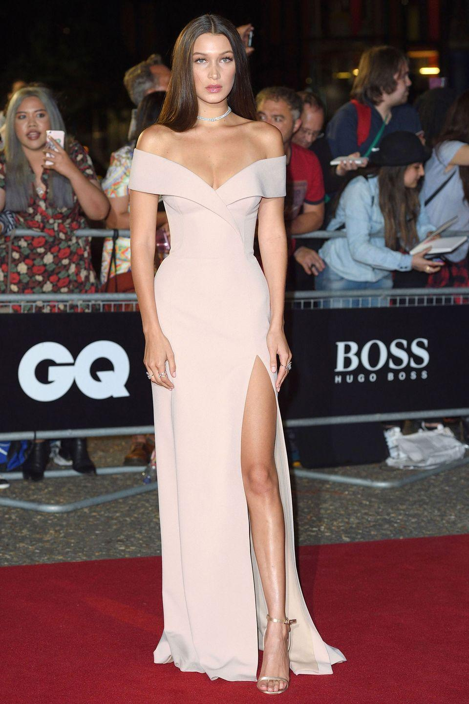 <p>In Jason Wu for Boss at the GQ Men Of The Year Awards 2016 at Tate Modern in London, England.</p>