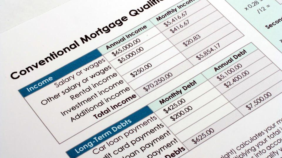 conventional mortgage qualifications
