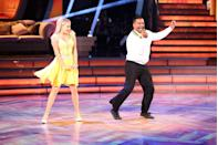 "<p>Ever wonder how the <em>DWTS </em>pairings come to be? Showrunner Rob Wade told <a href=""https://www.eonline.com/news/691911/so-how-does-dancing-with-the-stars-actually-pair-its-celebrities-and-professional-dancers"" rel=""nofollow noopener"" target=""_blank"" data-ylk=""slk:E! News"" class=""link rapid-noclick-resp"">E! News</a> it's a simple formula, ""based on height, build and personality and compatibility.""</p>"