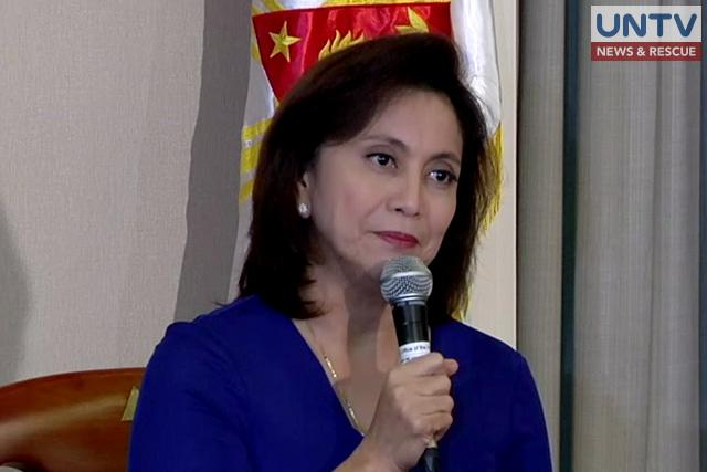 FILE PHOTO: Vice President Leni Robredo