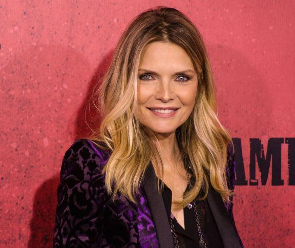 <p>Everyone's favourite Catwoman, Michelle Pfeiffer looks sensational at 58 – we bet she could still pull off that PVC catsuit too (Photo: PA) </p>