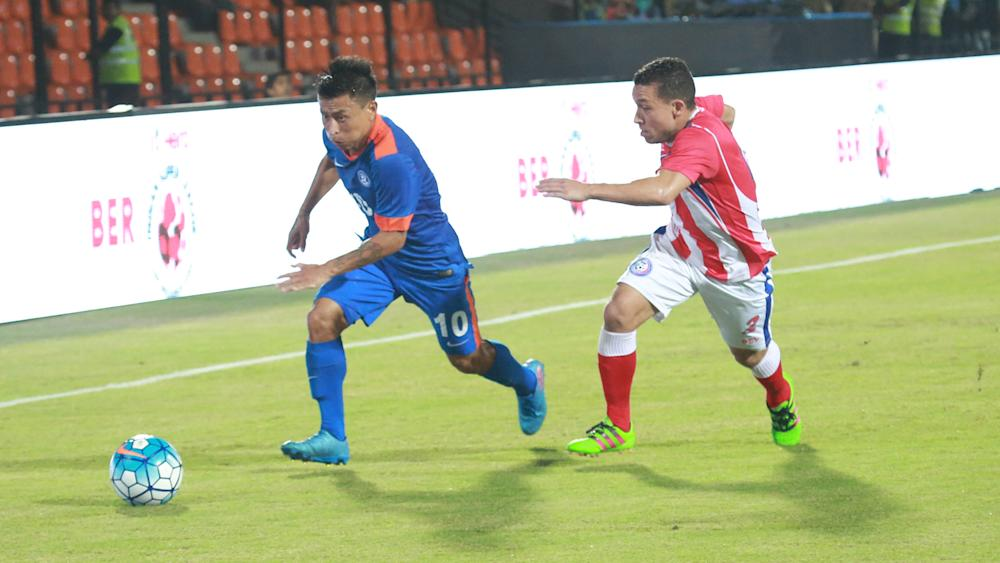 Jackichand Singh India Puerto Rico International Friendly