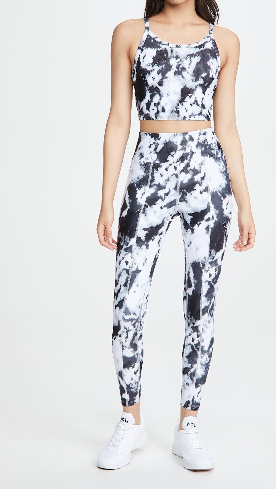 <p>If you're more of a print person, go with this <span>Year of Ours Tie Dye Rocky Leggings</span> ($108).</p>