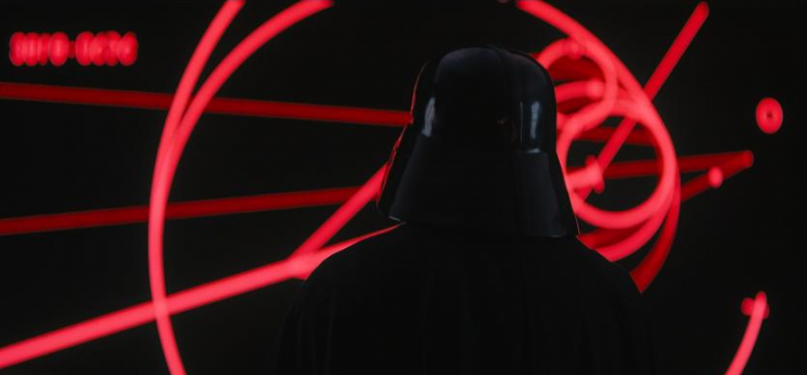 Vader as seen in the 'Rogue One' trailer (Lucasfilm)