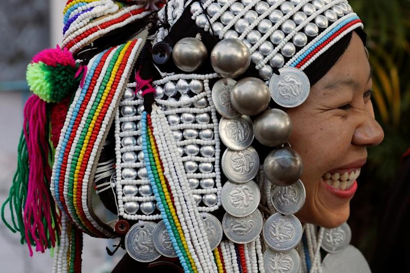 Catholic woman from Shan state