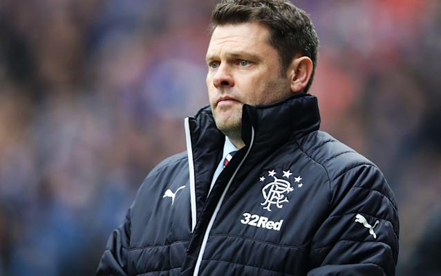 "After the hype, the low. Rangers' home defeat in last weekend's Old Firm derby ensured that Graeme Murty would embark on a rigorous bout of soul-searching – the invariable lot of the beaten manager in this fixture. ""I watched the game back three or four times and in the 10 minutes up until they scored their third goal they got out of their half once,"" Murty said. ""Alfredo Morelos has a one v one with the keeper and we're dictating the tempo and, but for some defending that wasn't our finest moment, we're in control of the game. ""I have looked back on the changes that we made and I think that, as well as the players getting better, I will get better because that is the first time I have been in the situation where we have gone into a game and people have expected us to beat Celtic. ""Because we are at 2-2 and they are down to 10 men people are expecting us to win. I have never been in that situation either. ""Because of the expectation, because of the fact they'd got a goal to go 3-2 up, we tried to do things all at once rather than continuing to do the things that got us success, but I have had numerous chats with different people, talking about the many positives from the game. ""We can't afford to get weighed down in the negatives because they can drag you too far. We have to make sure we understand the lessons from it and improve individually but also collectively and deal with whatever situations are thrown up."" Celtic players celebrate Odsonne Edouard's winning goal in last weekend's Old Firm game Credit: REUTERS Had Sunday's outcome been reversed, Rangers would have been playing Kilmarnock at home on Saturday in hope of drawing level on points with Celtic ahead of the champions' visit to Motherwell on Sunday. Instead, the imposition of sober reality means that, even should Rangers prevail against the Ayrshire side, Celtic are closing in on a seventh successive Scottish title with a comfort margin that will include two games in hand before kick-off at Fir Park. The late miss by Alfredo Morelos in front of the gaping Celtic goal instantly became part of Old Firm folklore and left the Colombian striker looking crushed. ""He was very down, he was very low, as you would expect,"" Murty said. ""He is another one who actually has to put it behind him and learn from it. My feeling is that we will be a better team for the experience. Walking off the football pitch with that level of performance, having to perform in a pressure environment will help them. ""It is a disappointment, a hard one to take, but the next time we are in a situation like that we will be a better team, I have no doubt."" Kilmarnock, too, experienced dismay in midweek, losing their William Hill Scottish Cup quarter-final replay at home to Aberdeen in a penalty decided after a 1-1 draw. Like Murty, however, Steve Clarke, chose to emphasise the progress his players have made after a poor start to the season. ""When I signed my contract to come here in October the team were 12th, Clarke said. ""We're now fifth. We've come a long way in a short space of time but we don't get carried away because we've actually achieved nothing. ""If we could secure a top-six place I think it would be a great achievement from the players."" Kilmarnock last achieved a top six finish in 2011 and are currently fifth, four points ahead of Hearts, having played one game fewer than the Tynecastle side. Killie's momentum has been fuelled by a prolific season for their veteran striker, Kris Boyd, who is the division's leading scorer with 14 goals. Morelos is on 13 and his Rangers team-mate, Josh Windass – Scottish Premiership player of the month for February – has 12 to his credit. Windass revealed that he is engaged in a personal contest with Boyd and also with Morelos. ""I was doing a programme with Boydie a few weeks ago. We were having a bit of banter about the top goalscorer award and I think the three of us are competing for that,"" Windass said. ""He's flying, absolutely flying. I check their results every week and see that he's scored and I'm raging. ""Alfredo doesn't speak that much English but I'm sure he doesn't like it too much when I score and go ahead of him. He's a competitive striker and it's the same with me. We're all trying to do our best to succeed for Rangers."" Windass, it is fair to say, has yet to win over some amongst the Rangers support, despite scoring the opener against Celtic. He was pilloried for gesturing for his critics to be quiet after he netted against Partick Thistle last month. ""The fans were on our backs a little bit because we were having a bit of a nightmare,"" he said. ""I scored and thought, 'Why not?' ""I do loads of daft stuff. Would I do it again? I don't know. I'll let you know next time."""