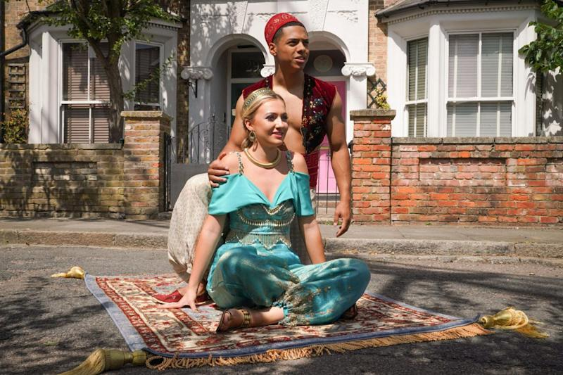 A Whole New World: EastEnders will perform a Disney medley (BBC/Kieron McCarron)